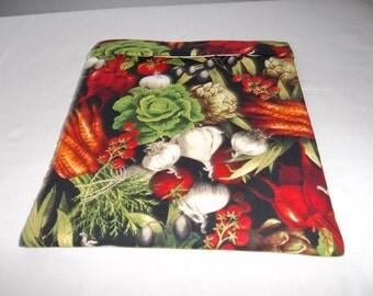 Microwave, Potato Bag, Mixed Vegetables, Potato Sack, Microwave Potato Bag, Kitchen Utensil, Handmade, ALL Cotton, Gift