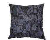 Victorian Gothic Decorative Throw Pillow Steampunk Home Decor Bedding