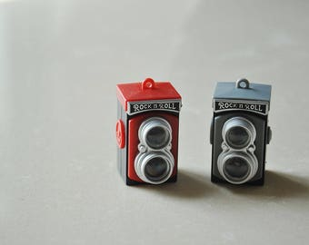 Tiny dollhouse Miniature Camera / Vintage Camera/Camera Toys