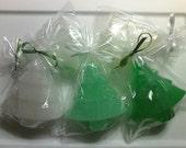 Christmas Tree Soap....Christmas exchange gift idea.....Stocking Stuffer Soap