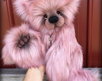 Whimsy - Huge 20IN faux fur artist Bear KIT by Emma's Bears - make it yourself