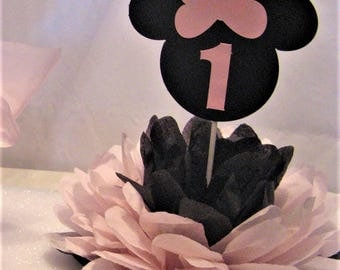 Minnie Mouse table decoration Double-side