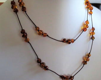 Signature ADULT Baltic Amber Necklace//Double Wrap Necklace//Long Necklace//Baltic Amber