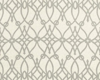 fabric yardage Braemore fabrics Fioretto Graphite remnant