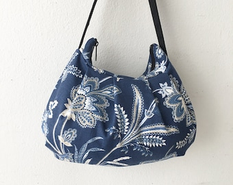 Pleated Bag // Shoulder Purse - Barano Indigo