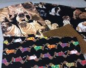 Dog Fabric PIeces