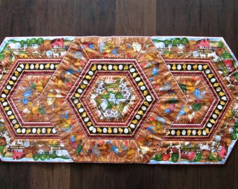 Barnyard Table Runner