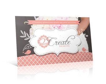 Custom Wedding Invitation, Postcard, Gift Card Design for print