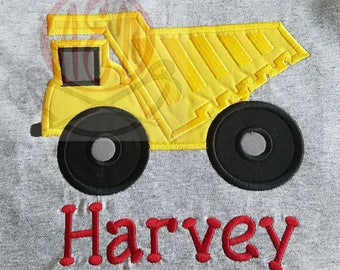Personalized Dump Truck Shirt