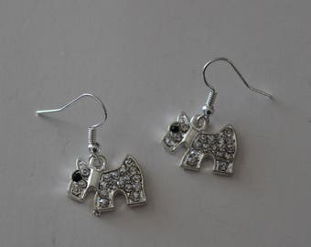 SCOTTY DOG Earrings - Pet - Scottish Terrier