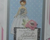 Princess Fairy Godmother Card