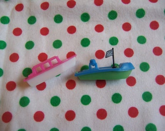 itty bitty boats toy cake toppers