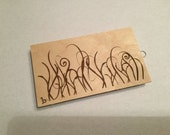DESTASH - New/Used Unity Wood Slide Mounted Red Rubber Stamp or Stamps