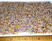 Antique & Vintage Striped Seed Beads 2 oz Lot of Loose Czech - Venetian Size 12/0 to 20/0