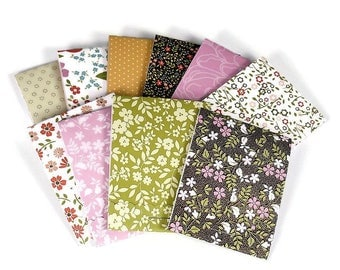 Set of 20 Matchbook Notepads   Match Books Mini Note Pads in Blossoms