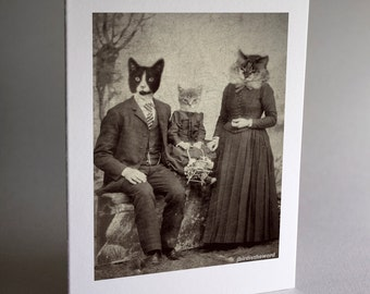 Cat Note Cards, Cat Cards, Cat Art, Cat Note Card, Notecard, Thank You Card, Note Card, Note Cards, Handmade Cards, Card Set, Greeting Card