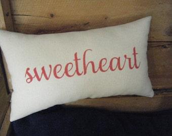 Pillow - sweetheart