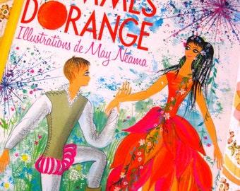 1960s Book - Les Trois Pommes D'Orange