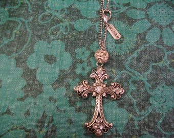 Cross Blessed Charm Religious Car Rear View Mirror