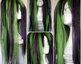 Black, green and purple massive hair falls! Instant transformation!