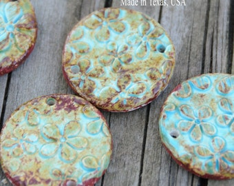 Essential oil pottery bead