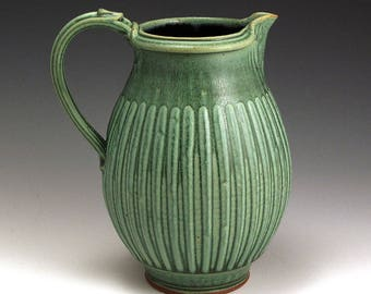 Green Lines 2 Quart Pitcher