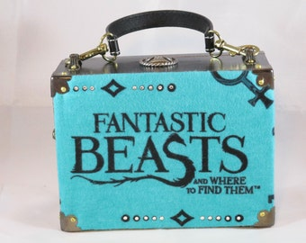 Harry Potter, Fantastic Beasts and Where to Find Them, Stupify, Cigar Box Purse, Box Purse, Handbag, Jaxx Old School Cigars Item #706