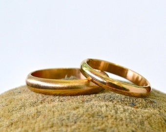 Custom Wedding Bands - solid gold wedding bands, custom designed wedding rings, gold wedding bands, silver wedding bands, ceremony rings