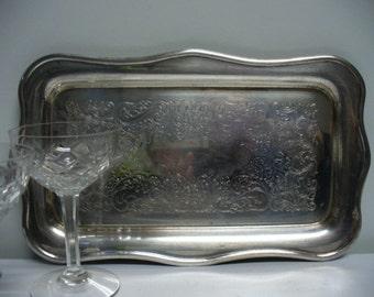 Little Silverplate Tray