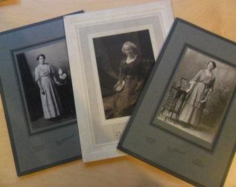 Antique Studio Portraits