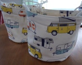 Camper Soft Sided Canvas Bucket