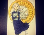 Luna Lovegood--Daily Sketch Bonus