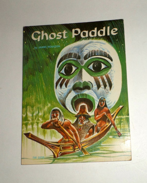 Haunted Places In Northwest Houston: Ghost Paddle Book Vintage Book Scholastic Book By Carriesattic