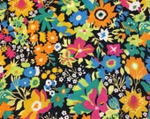 Liberty fabric RARE colour way of Manuela Liberty tana lawn - stash builder 10ins x 13ins