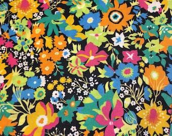 Liberty fabric RARE colour way of Manuela Liberty tana lawn - stash builder 10ins x 13ins