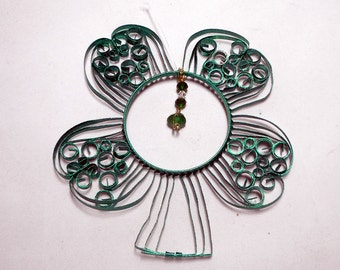 4 Leaf Clover Sun Catcher from Aluminum Can