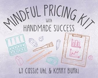 Mindful Pricing Kit with Handmade Success
