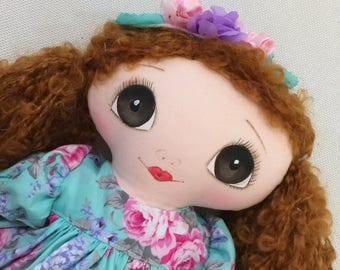 Doll handmade Ready to Ship