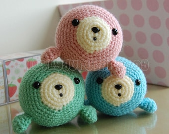 Little Seal Amigurumi Pattern