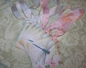 Dragonfly Tags Dragonfly Summer Tags Favors Wedding Wish Tags Set of 6 or 9
