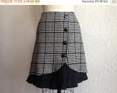SALE Grace wool ruffle front skirt Sz 2