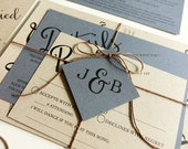 Reserved for Stephanie Carlino, Balance of Angled Script Wedding Invitations