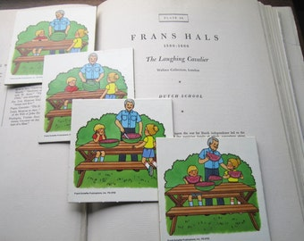 Vintage Educational Cards * Storyboard * Learning * 1990's Frank Schaffer Inc Toys * Storybook Cards * Vintage Kids * Scrapbook