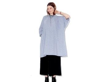 OMG HALF OFF Grey tshirt dress / giant oversized shirt dress t shirt dress 5 Xl