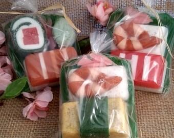 Sushi Soap Sampler Small Set