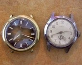 Vintage Full Watch movements in original cases Steampunk - Scrapbooking x22