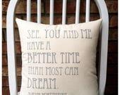 Custom Dave Matthews Pillow