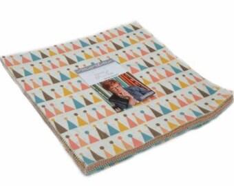 SUMMER SALE - Corner of 5th and Fun - Layer Cake - Sandy Gervais - Moda Fabric