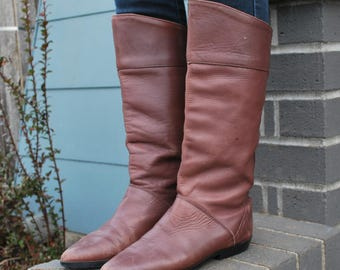 Vintage Classic Comfy Leather Lined Boots