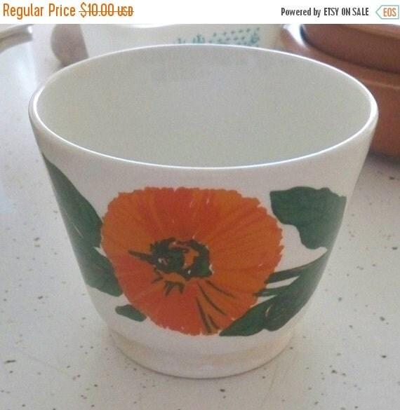 Sale Vintage Coffee Cup Mug Large Floral By